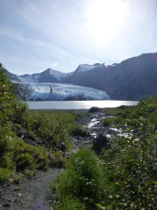 trail on left_creek in middle_portage lake and portage glacier